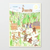 Locals Only- Danville Canvas Print