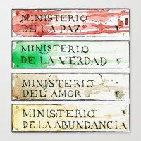 Ministerios 1984 Canvas Print