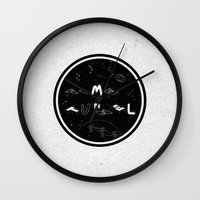 TIME TUNNEL Wall Clock