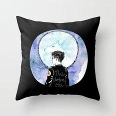 Auror Harry Throw Pillow