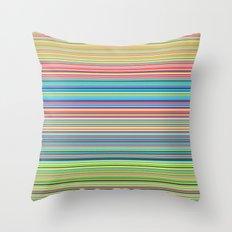 STRIPES17 Throw Pillow