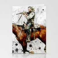 Western Outlaw Cullen Bo… Stationery Cards