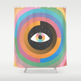 Shower Curtain - Path to Infinity - Moremo