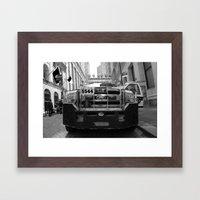 New York #02 Framed Art Print