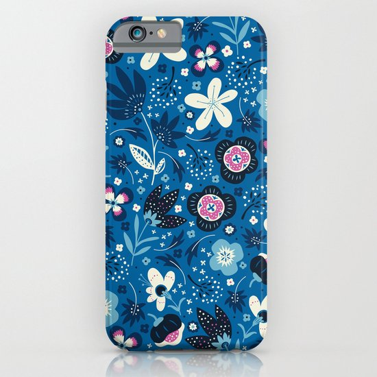 Blue Meadow iPhone & iPod Case
