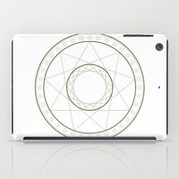 Anime Magic Circle 14 iPad Case