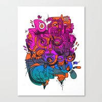 King Louie  Canvas Print