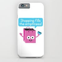 iPhone & iPod Case featuring Retail Therapy by David Olenick