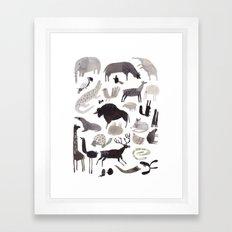 animaletti Framed Art Print