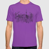 Toronto! Mens Fitted Tee Ultraviolet SMALL