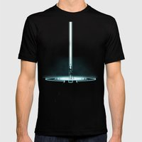 TRON PORTAL Mens Fitted Tee Black SMALL