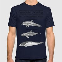 III. The Duodecimo Whale Mens Fitted Tee Navy SMALL