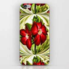 Exotic Flower Unrap iPhone & iPod Skin