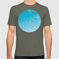 Fly Away Mens Fitted Tee Lieutenant SMALL