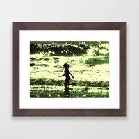 Minty-Fresh Tingles Framed Art Print