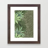 A Run Through the Jungle Framed Art Print