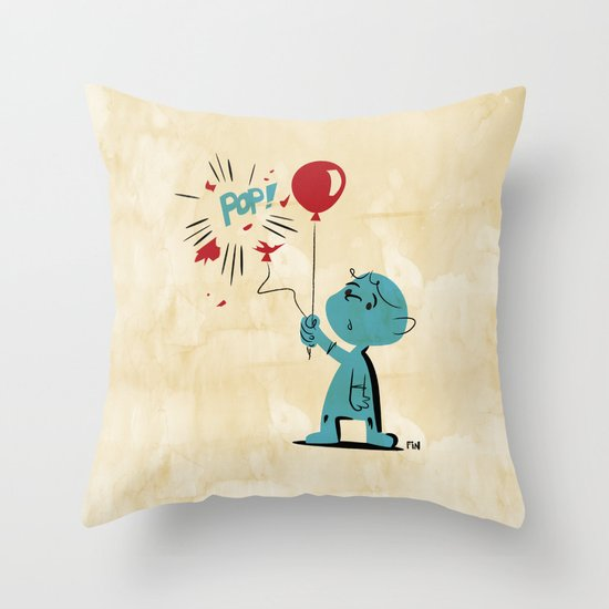 A Picture to Draw When I'm Sad Throw Pillow