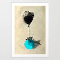 Around me Art Print