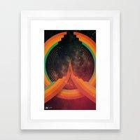 Parallel Framed Art Print
