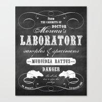 Dr. Moreau's Laboratory Canvas Print