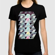 Lyykkd Womens Fitted Tee Black SMALL