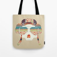 Retro Aviator Tote Bag