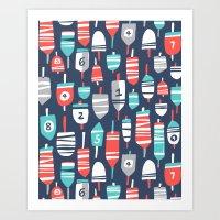 Oh Buoy! Art Print