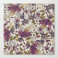 Dreaming Florals Canvas Print