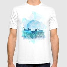 Twilight SMALL White Mens Fitted Tee