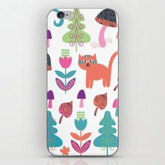 Animals pattern 4F iPhone & iPod Skin