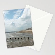 Solitary Seagull Stationery Cards
