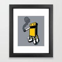 PACKMAN Framed Art Print