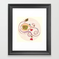 Apple of My Eye Framed Art Print