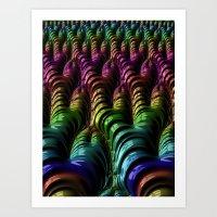 Feeds Art Print