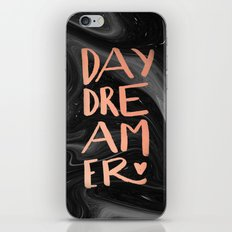 daydreamer (rose gold + handmade lettering) iPhone & iPod Skin