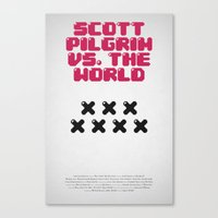 Scott Pilgrim Vs. The Wo… Canvas Print