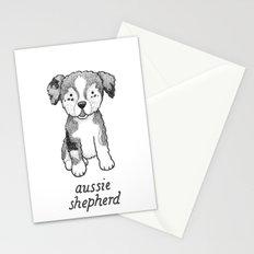 Dog Breeds: Australian Shepherd Stationery Cards