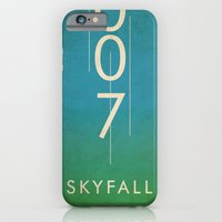 iPhone & iPod Case featuring skyfall by alex lodermeier