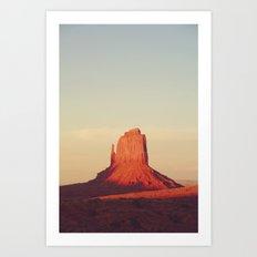 Monument Valley, P.M. Art Print