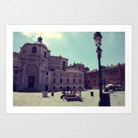 Lazy Venice Art Print