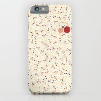 Light Background Dot Col… iPhone 6 Slim Case