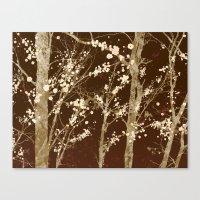 Make it Through (woodland brown edition) Canvas Print