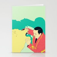 circus Stationery Cards featuring Circus by ministryofpixel