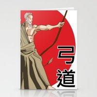 Kyudo - Be the Arrow Stationery Cards
