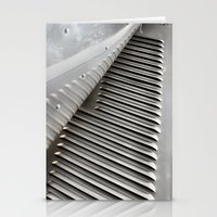 Metal Ribs Stationery Cards
