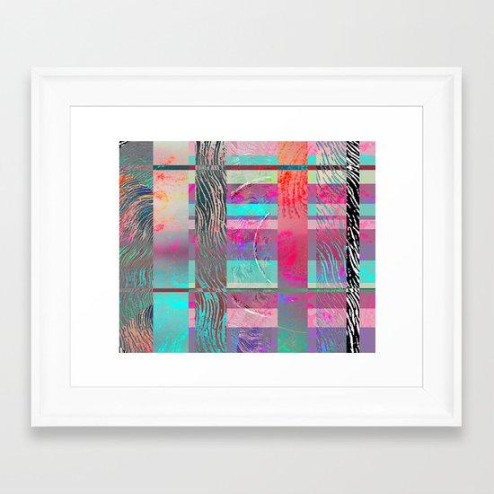 Graph collection 2 Framed Art Print