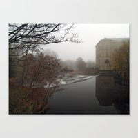 New Mill Canvas Print