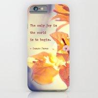 Begin With Joy iPhone 6 Slim Case
