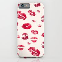 iPhone & iPod Case featuring Sweet Kiss by Msimioni