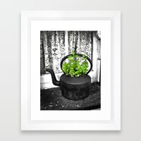Herbal Tea Framed Art Print